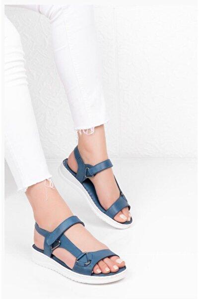 Bella Kadın  Mavi Sandalet