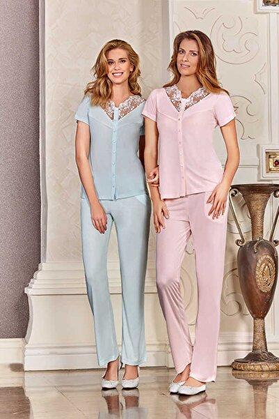 Berrak Kadın Mint Pijama Takımı 450