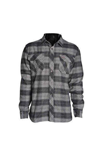 Freecamp Unisex Gri Knit Man Fleece Shirt