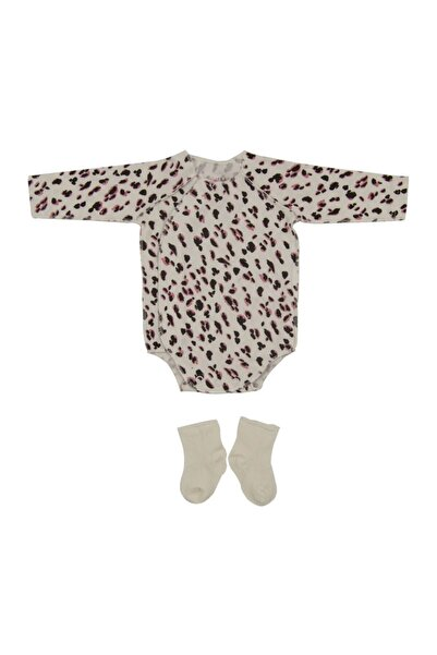 İDİL BABY Kız Bebek Zıbın Body