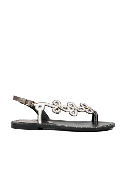 Hammer Jack Kadın Platin Sandalet
