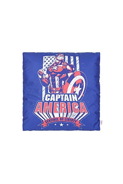 Miniso Mınıso Marvel Yastık - Kaptan Amerika