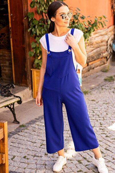 armonika Kadın Saks Bahçıvan Tulum Arm-20Y001024
