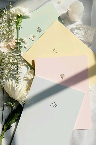 AKILLICA Notebook 4'lü Defter Set Soft