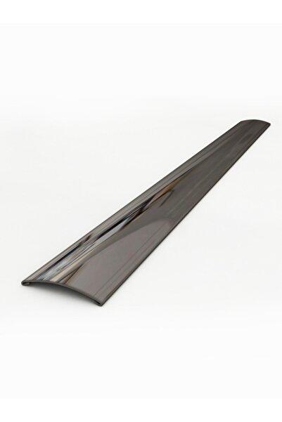 Profil Al Paslanmaz Çelik Kapı Eşik Profili Siyah Parlak 244 cm