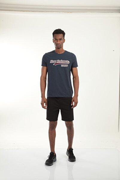 New Balance Logo Tee Erkek Tişört