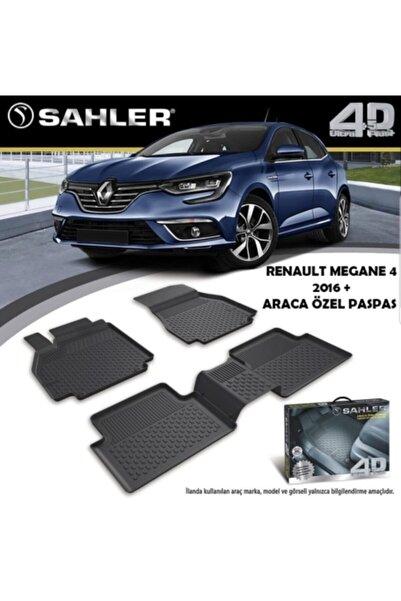 Sahler Renault Megane 4 4,5d Havuzlu Paspas, Megane 4 Paspas, 2016- Ve Üstü Uyumlu