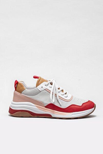 Elle Shoes Kadın Latasha Kırmızı Casual Ayakkabı 20KRGN-30
