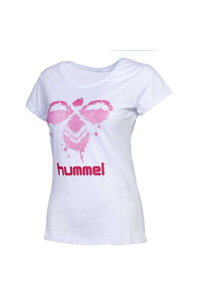 HUMMEL Kadın Beyaz T-Shirt