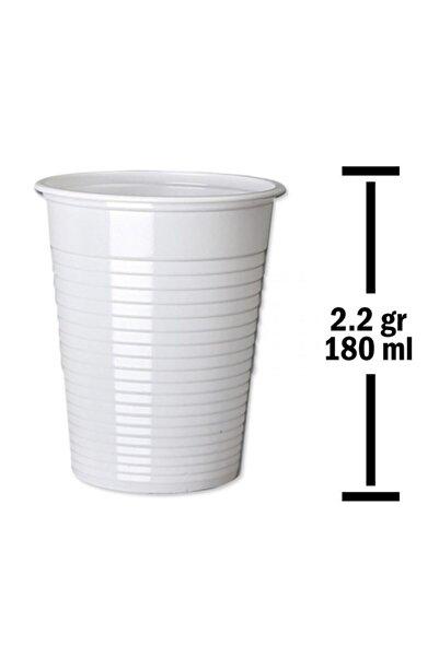Huhtamaki 2,2gr 100lü Paket 180 Ml Beyaz Plastik Bardak