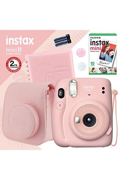 Fujifilm Instax Mini 11 Pembe Fotoğraf Makinesi Ve Kare Albümlü Hediye Seti 22