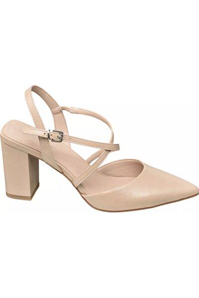 Catwalk Deichmann Kadın Bej Topuklu Ayakkabı 11742810