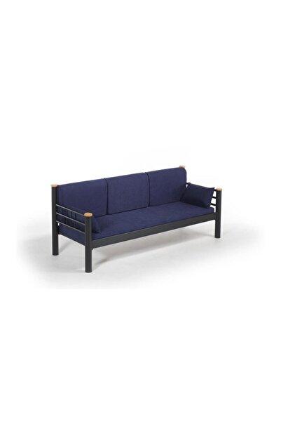 Vivense Kappis Dk Metal Sofa Sedir Siyah 70x200cm