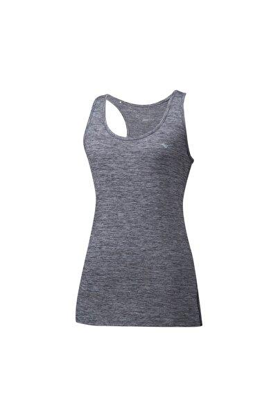 MIZUNO Kadın Gri Kalın Askılı Spor T-Shirt