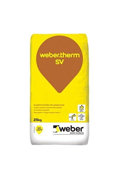 WEBER Therm Sv 25kg(çimento Esaslı Yüzey Sıvası)