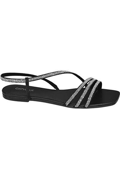 Catwalk Deichmann Kadın Siyah Sandalet 12102774