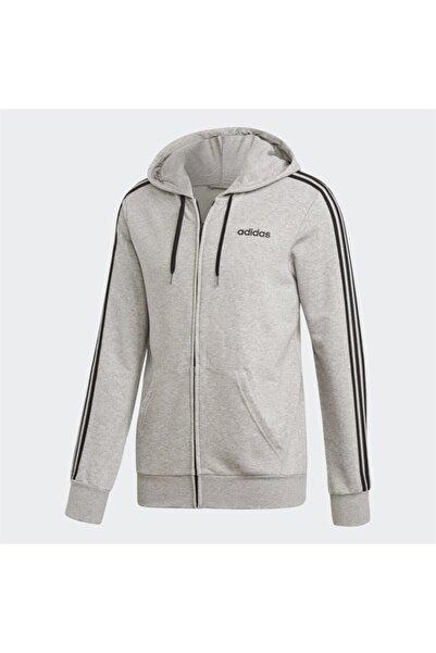 adidas Erkek Gri Spor Sweatshirt E 3s Fz Ft