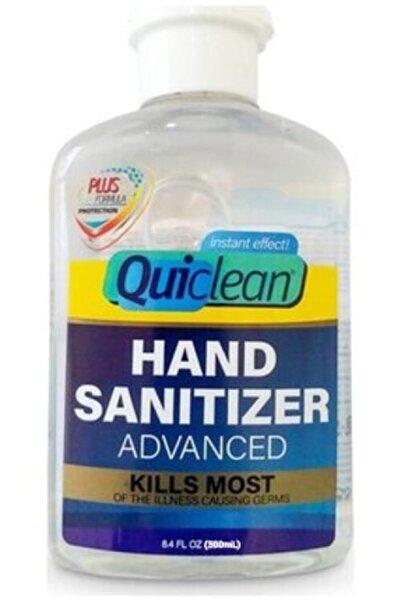 Şifa-iNur 3 Adet Quiclean Anti Bakteriyel Alkol Bazlı El Dezenfektanı 500 Ml