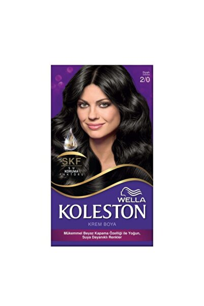 Koleston Set Saç Boyası 2.0 Siyah