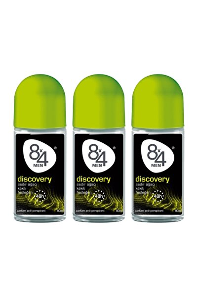 8x4 Erkek Roll-on Deodorant 3'lü Set