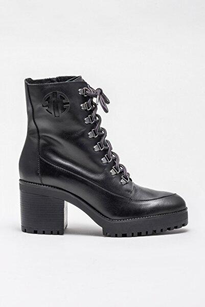 Elle Shoes Kadın Avrel Sıyah Bot & Bootie 20KDS59701
