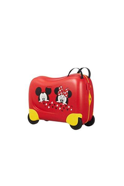 Samsonite Kırmızı Mickey & Minnie Dream Rider Çocuk Valizi 50 Cm