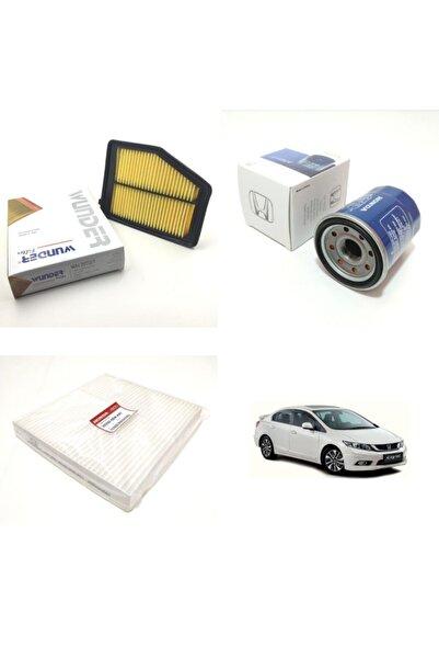 WUNDER Honda Civic (2012 Ve Sonrası) Fb7 Filtre Bakım Seti
