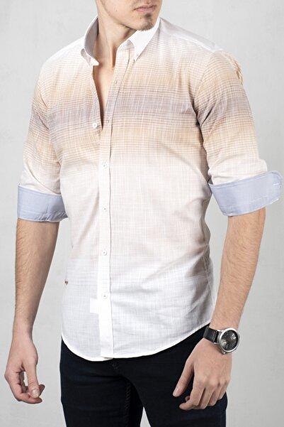DeepSEA Erkek Beyaz Uzun Kol Gömlek 2006022