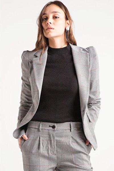 HomeStore Kadın Grı Ceket 1750108236910