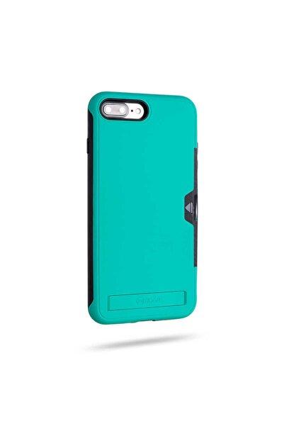 HTstore Apple Iphone 7 Plus Kılıf Roar Awesome Hybrid Case-turkuaz