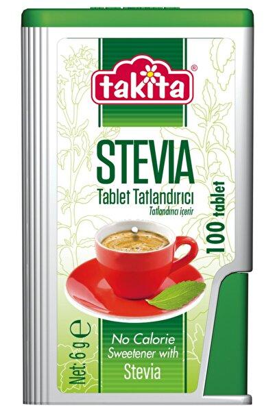 Takita Stevia Tablet Tatlandırıcı 100 Tablet