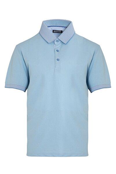 Hatemoğlu Erkek Açık Mavi Polo Yaka Tişört