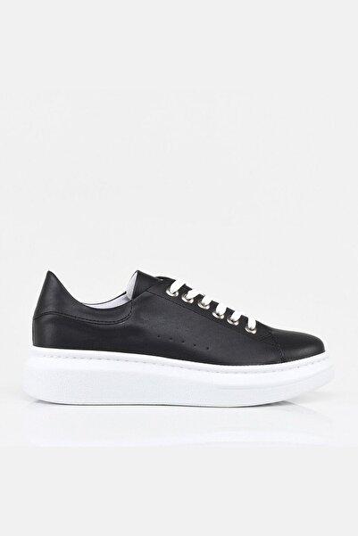 Hotiç Siyah Yaya Kadın Spor Ayakkabı