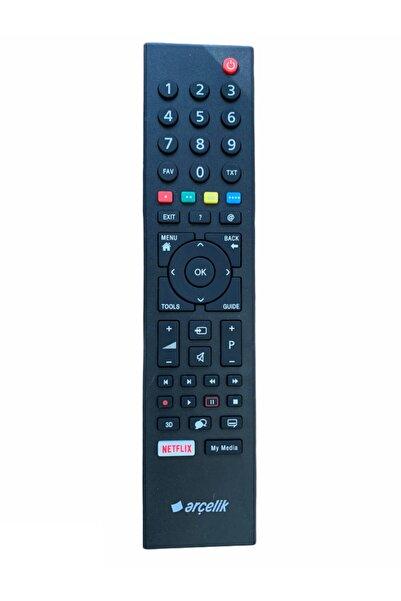 Arçelik Kozmetik Çizikli Ürün Orjinal A55l 8860 5s 4k Diamond Netflix Smart Led Tv Kumanda