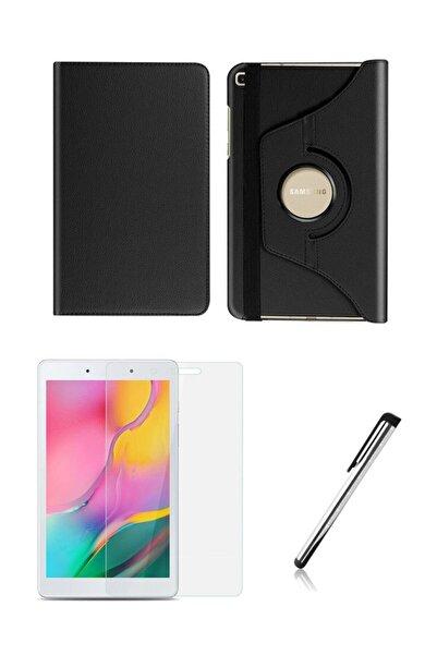Esepetim Samsung Galaxy Tab A Sm-t290 Dönerli Tablet Kılıfı Seti 8 Inç Siyah