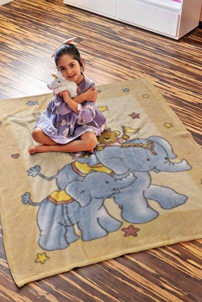 Dinarsu Little Fairy 100x120 Polyester Vizon Bebek Battaniyesi