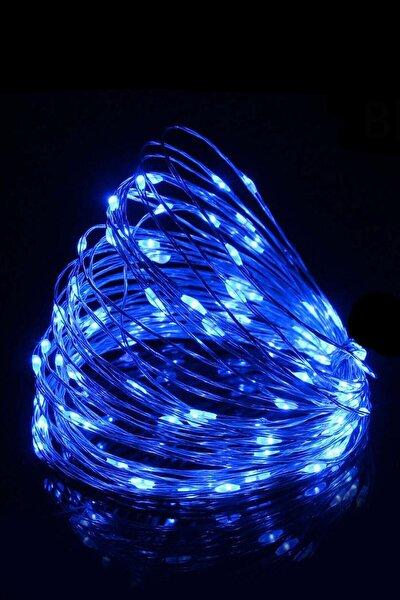 BYSHOME Peri Led 5 Metre Pilli Mavi Renk Dekoratif Aydınlatma
