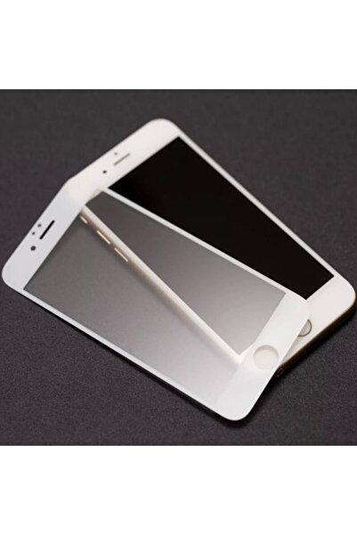 Telehome Iphone 7 Plus Mat Kırılmaz Cam Nano Parmak Izi Bırakmaz Beyaz