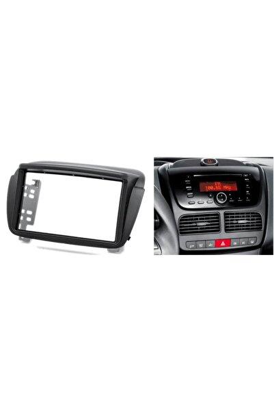 Cadence Fiat Doblo 2011-2012-2013-2014 Model Double Oto Teyp Tam Uyumlu Çercevesi Kamerası Ile Birlikte