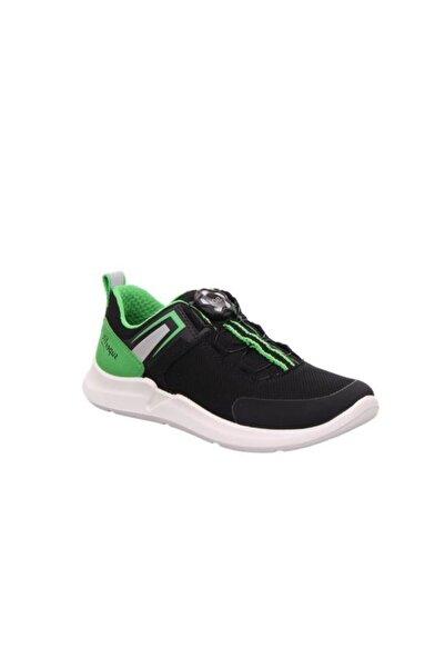 Superfit Hafif, Esnek Spor Ayakkabı, Siyah/yeşil