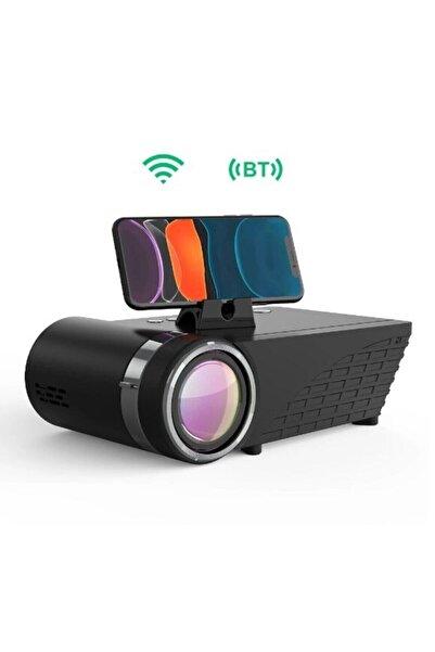 BlitzWolf Bw-vp8 Wıfı+bluetooth 5.0 Projektörü 5500 Lümen Lcd Led Cast Screen