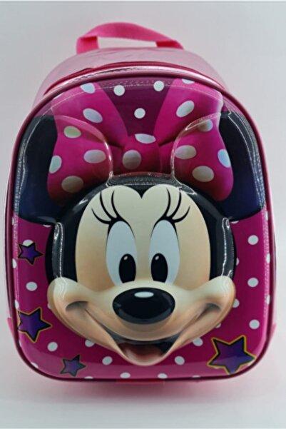 Minnie Mouse - Kabartmalı Çocuk Sırt Çantası Anaokulu Çantası