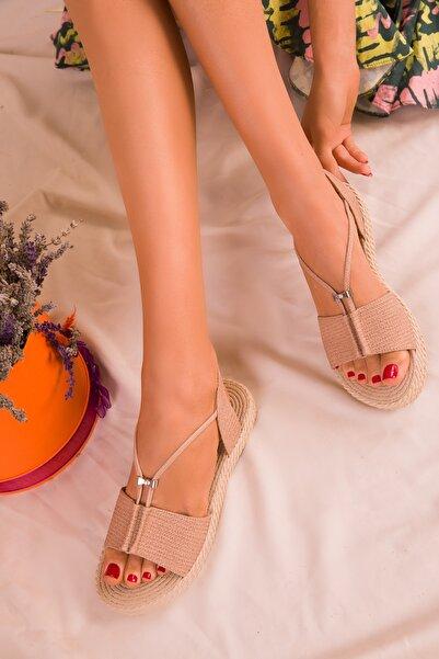 SOHO Nude Kadın Sandalet 14661