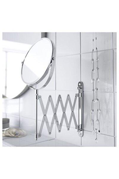 IKEA Frack Büyüteçli Çift Taraflı Makyaj Ve Traş Aynası, Paslanmaz Çelik