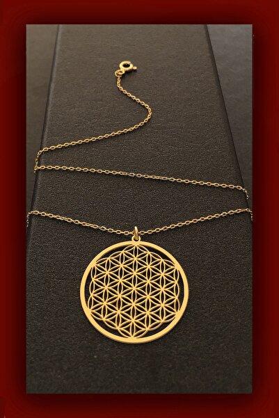 ROXX THE JEWELLRY Yaşam Çiçeği Gold Gümüş Kadın Kolye