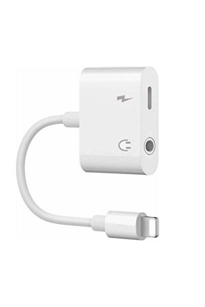 Saez Iphone Ipad Lightning Uyumlu Kulaklık Ve Şarj Çevirici Dönüştürücü Çoğaltıcı Kablo 6 7 8 Xr 11 12