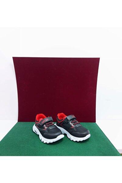 Let's Go Erkek Çocuk Siyah Cırtlı Ayakkabı