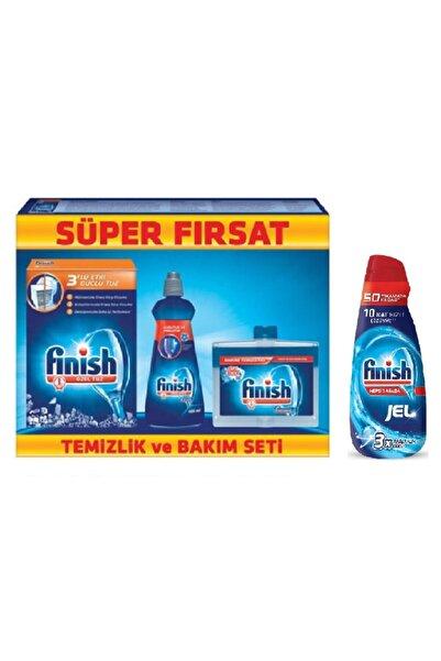 Finish Fınısh Tuz 550 Gr+makıne Temızleyıcı+parlatıcı 400 Gr+fınısh Jel 1000ml