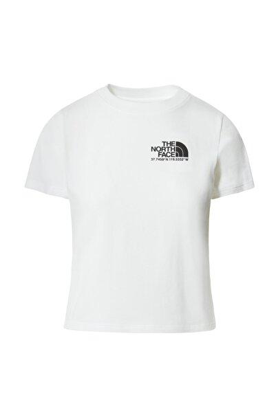 THE NORTH FACE Kadın Beyaz T Shirt