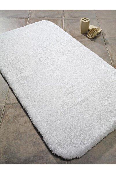 Confetti Organıc Soft 2000 gr 20mm 50x75 Beyaz Banyo Halısı